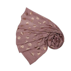 Blush Pink Antique Dot Scarf