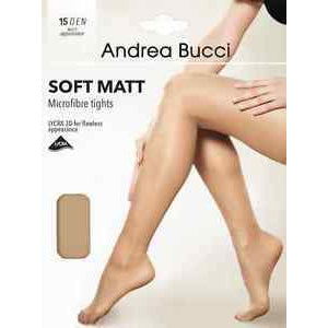 Natural Soft Matt Micro Fibre Tights 15 Denier By Andrea Bucci