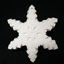 "Ornament 6"" Snowflake"