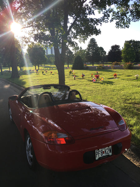 Memory Drive in Pop's Boxster