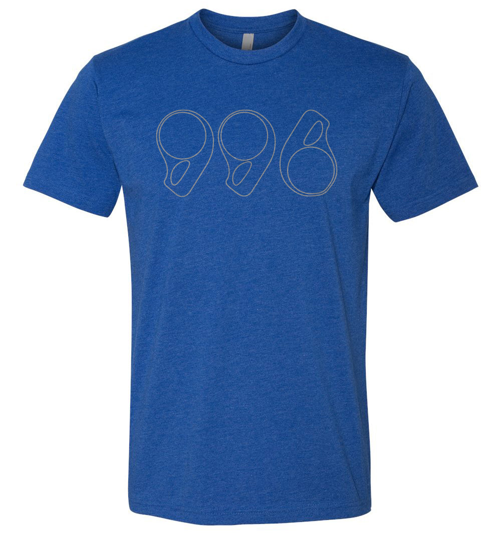 996 T-shirt with Headlight Design