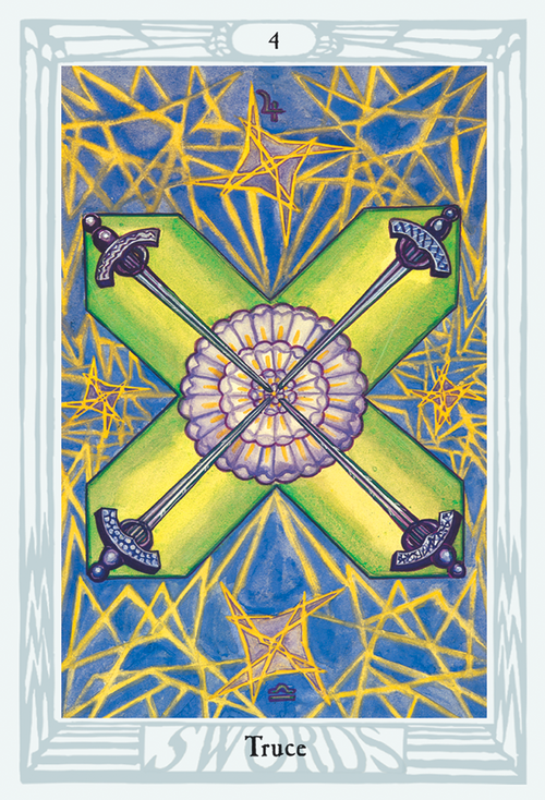 Crowley Thoth Tarot Deck (Deluxe) US Games - Tarot Room Store