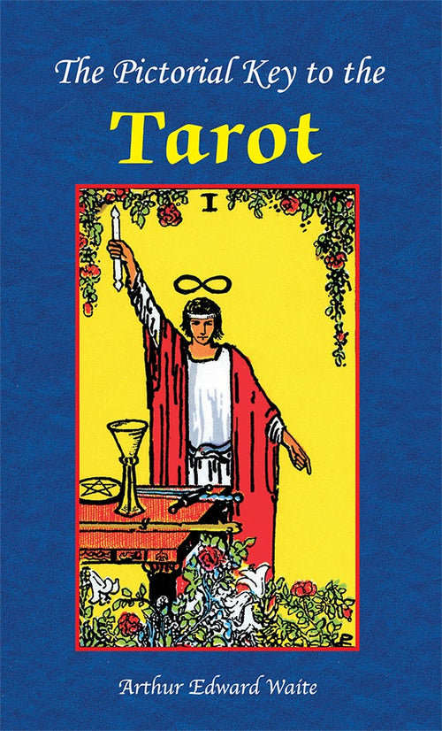 Rider Waite Book - The Pictorial Key to the Tarot - Tarot Room Store