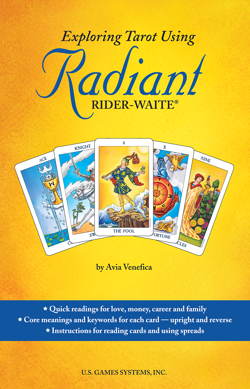 Radiant Book- Exploring Tarot Using Radiant Rider-Waite® - Tarot Room Store
