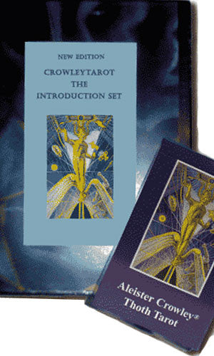 Crowley Tarot The Intro Deck and Book Set - Tarot Room Store