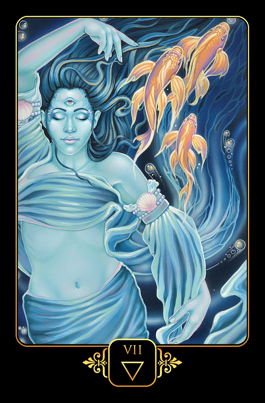 Dreams Of Gaia Tarot Pocket Size - Tarot Room Store
