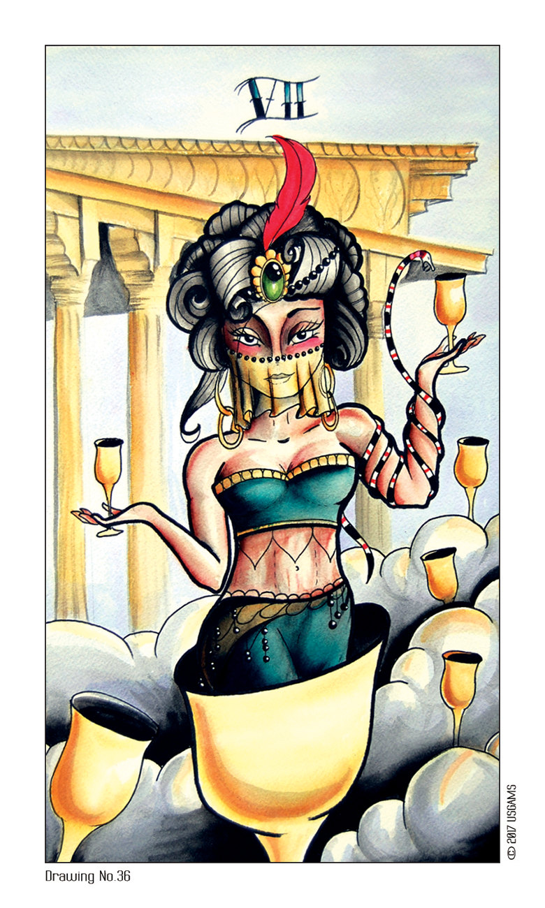 Eight Coins' Tattoo Tarot Deck - Tarot Room Store