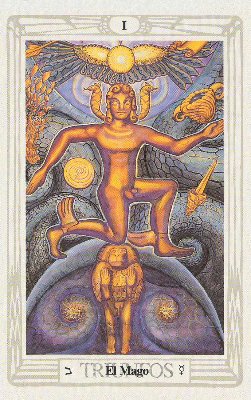 Crowley Thoth Tarot Deck (Spanish) - Tarot Room Store