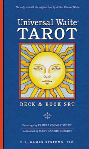 Universal Waite Tarot Deck and Book Set - Tarot Room Store