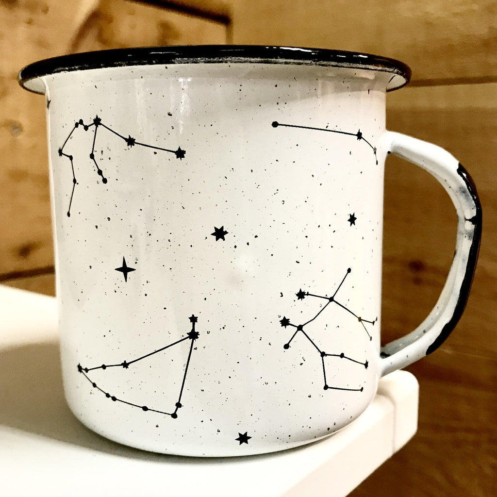 Constellations Enamel Mug (in stock)