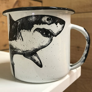 Shark Enamel Mug (in stock)