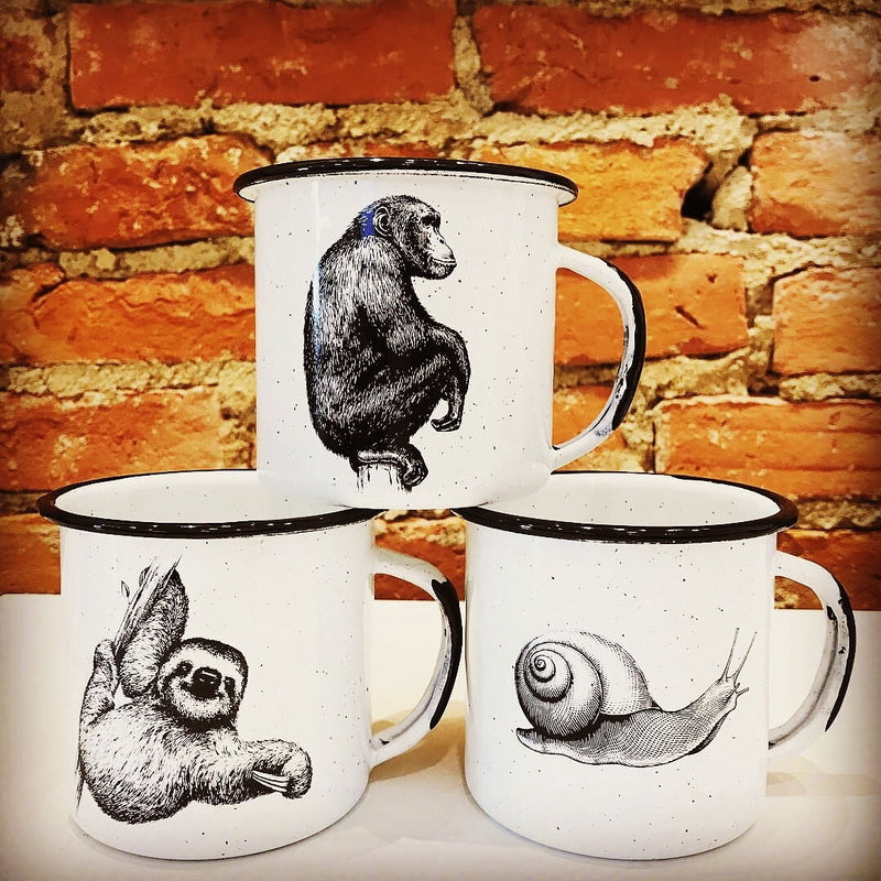 Medium Enamel Mugs (ships in 2-5 days)