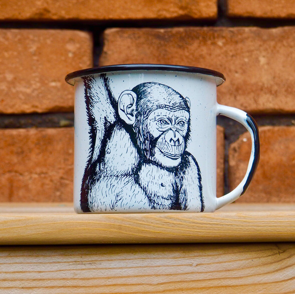 Monkey Coffee/Tea Mug (Ships in 2-4 weeks)