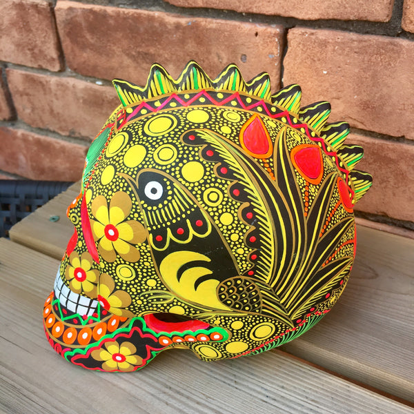 "7"" Large Ceramic Punk Calavera (pre-order only)(ships within 4-8 weeks)"