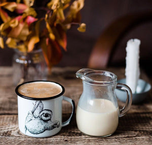 Sloth Enamel Mug (in stock)