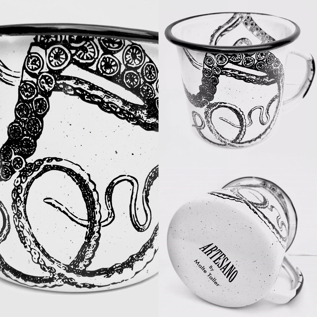 Tentacles Enamel Mug (in stock)