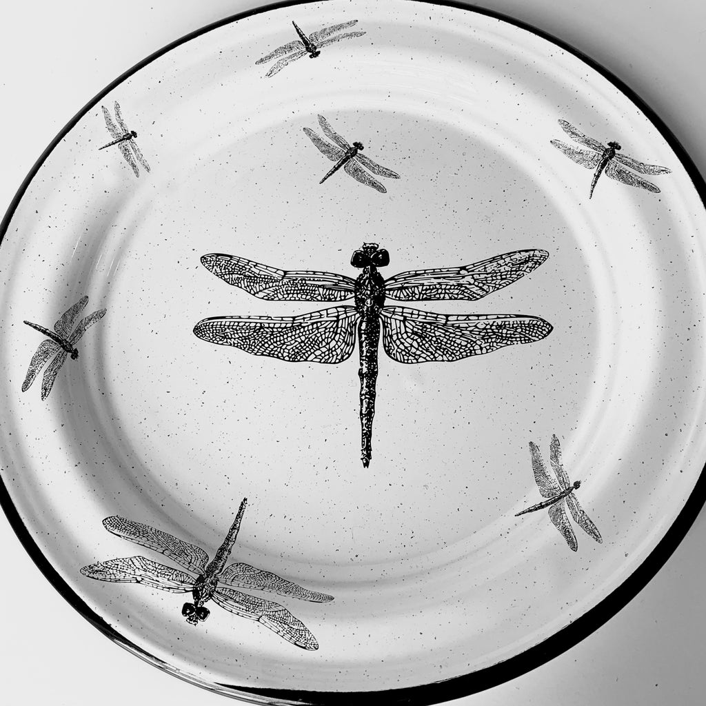 Dragonflies Salad Plate (in stock)