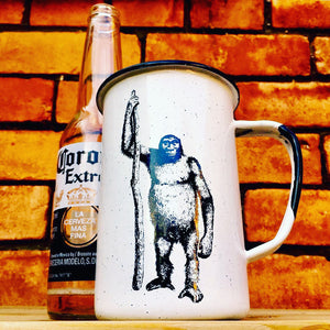 Large Neanderthal Enamel Mug (in stock)