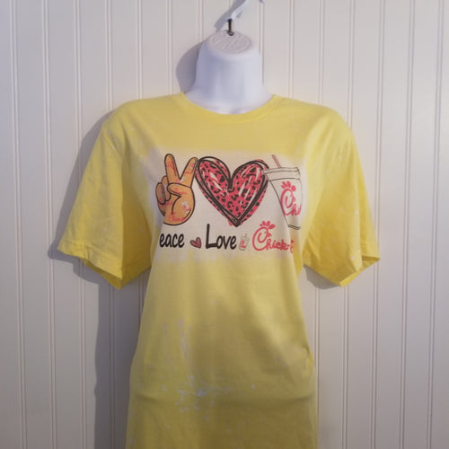 Peace Love Chic Tee