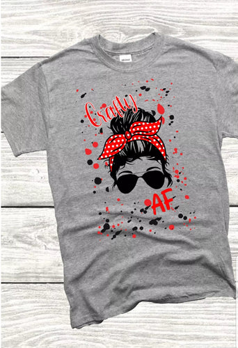 Crafty AF glasses T-SHIRT
