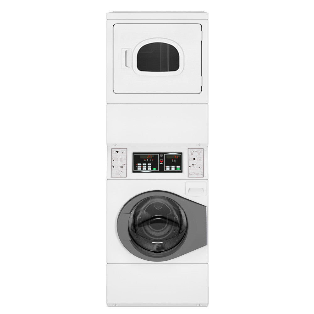 Commercial Washer And Dryer Combo Ipso Cs10 Commercial Washer Dryer Stack Laundry Solutions Australia