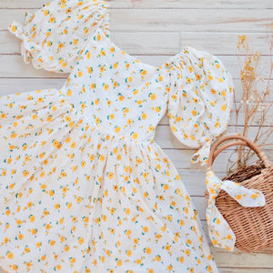 Hailey Dress | Yellow Daisy