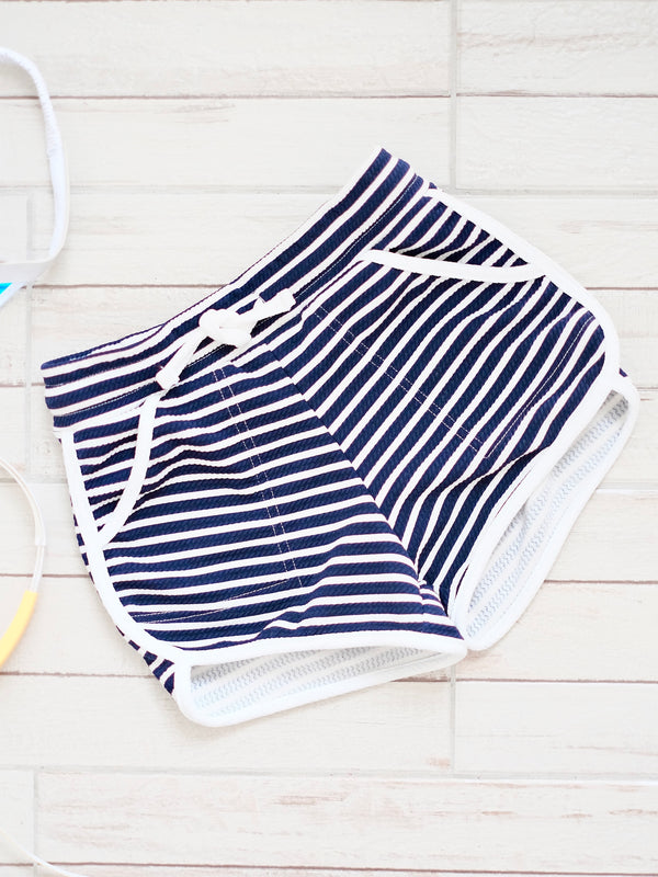 Ringer Shorts | Stripes