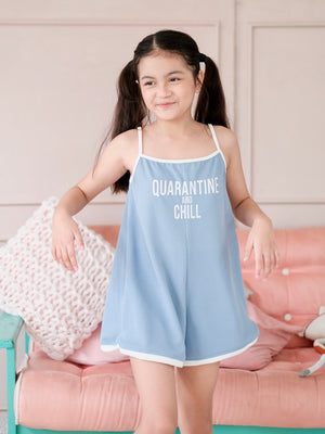 Quarantine & Chill Ringer Playsuit
