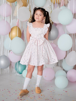 Anatole 2-in-1 Romper & Pinafore Set