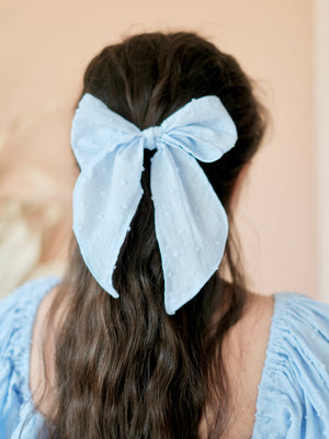 Tuscan Bow | Baby Blue