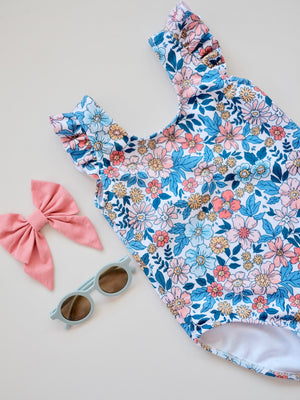 Alma Swimsuit | Blue