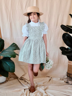 Anatole Jumper Dress | Sage