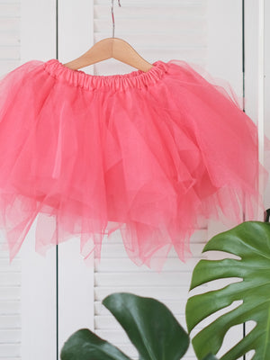 Flamingo Pink Tutu Skirt