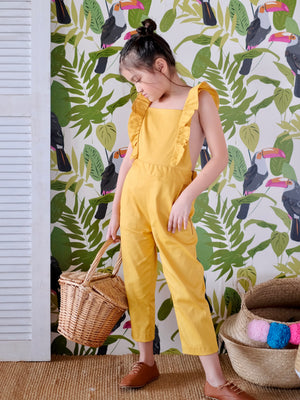 Sylvie Cropped Overalls
