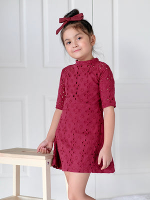 Emma Eyelet Cotton Dress