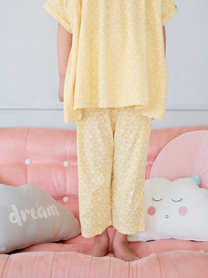 Pajama Pants | Yellow