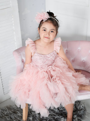 Laurette Tutu Dress | Pink