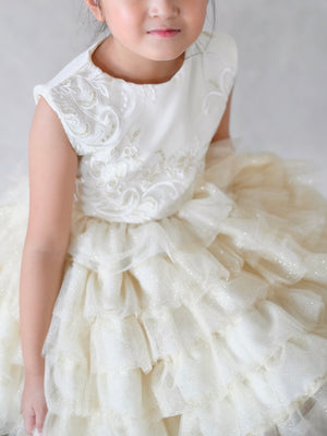 Isabelle Tiered Tulle Dress
