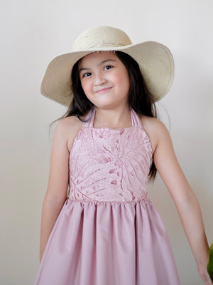 Isabela Dress (Dusty Pink)