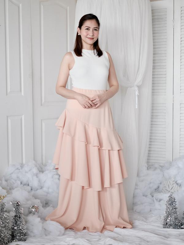 Maeve Skirt Adult Size in Blush (Small)