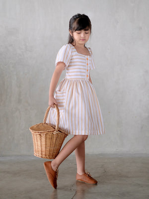 Kaleigh Dress (Stripes)