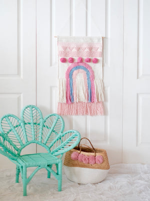 Macrame Rainbow Wall Hanging