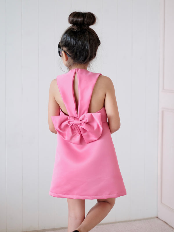 Heather Bow Back Dress