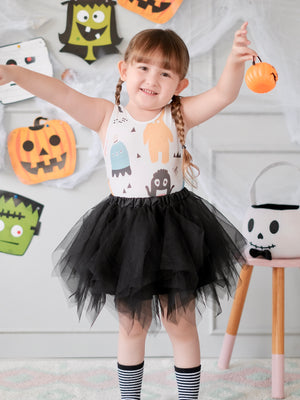 Monster Tutu Set (Bodysuit+Tutu+Mask)