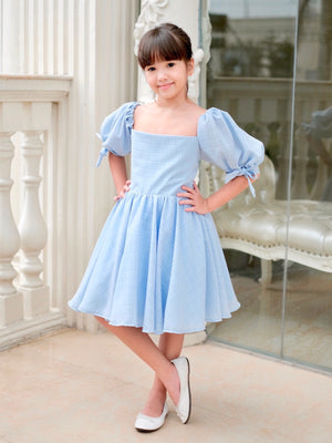Hailey Dress | Baby Blue