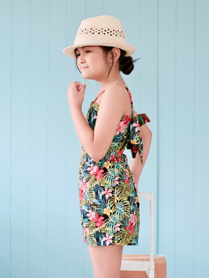 Kalia Playsuit | Tropical Print