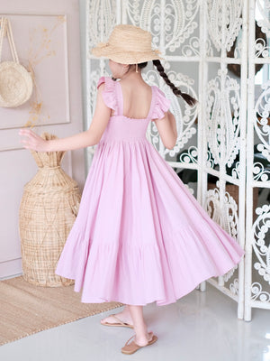 Irina Dress | Misty Mauve