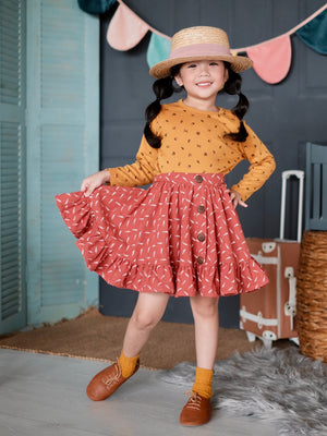 Bethany 2 in 1 Jumper Dress and Skirt