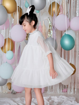Bertha Doll Dress Set | White