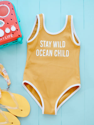 Stay Wild Ocean Child Bodysuit